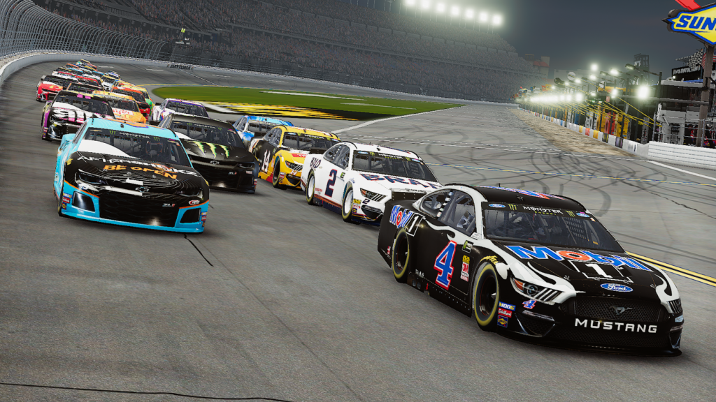 enascar heat pro league, nascar heat, nh4, heat pro league, esports, racing game, mustang nascar