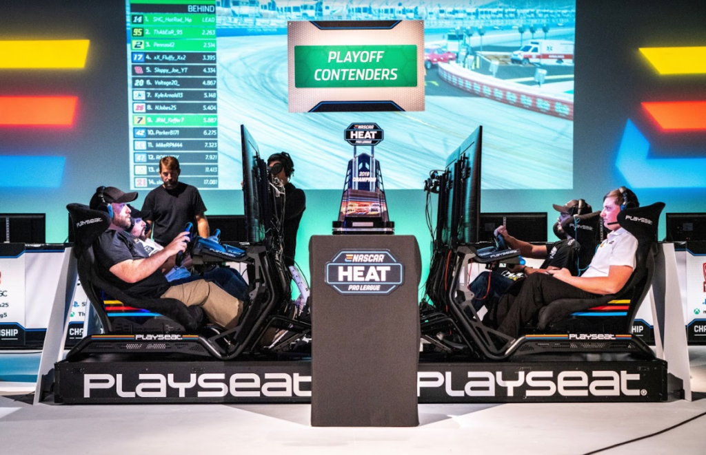 enascar heat pro league, nascar heat, nh4, heat pro league, esports, racing game, 704games, nascar, racing video games